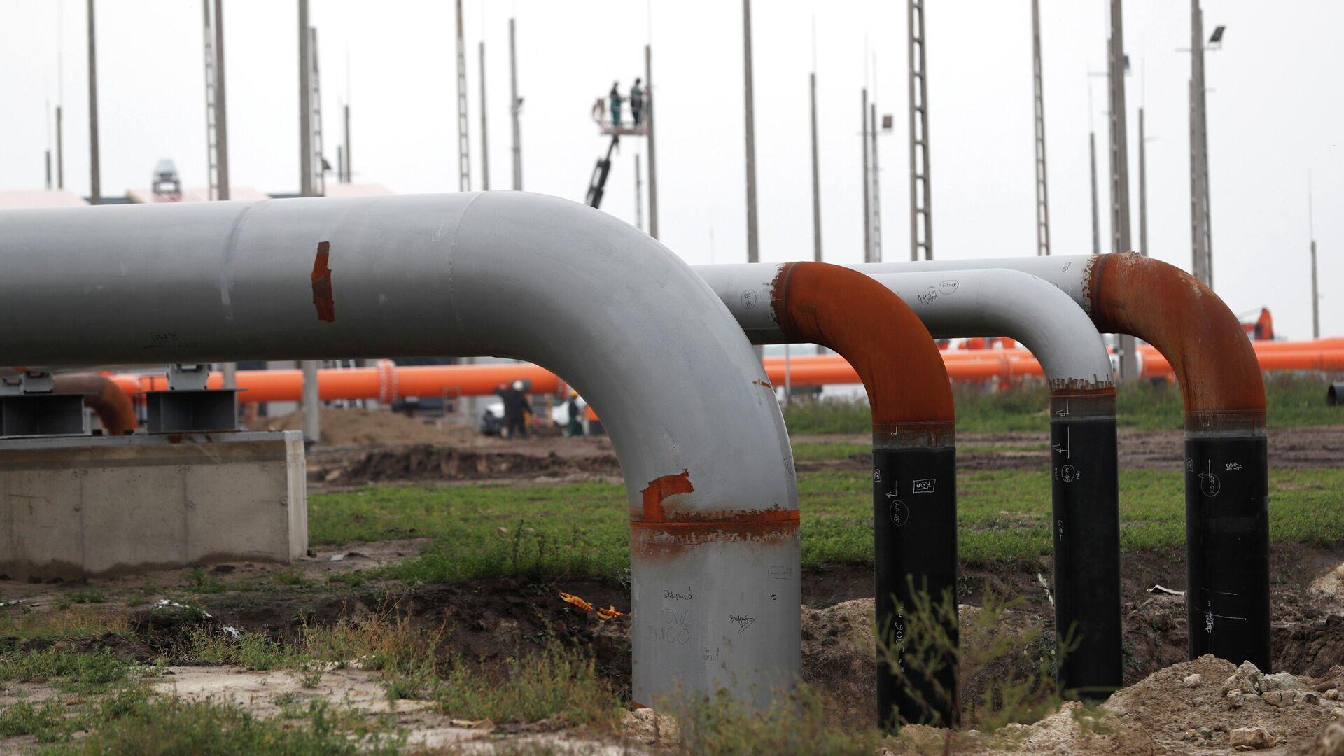 Транзит газа в Венгрию через Украину возобновили