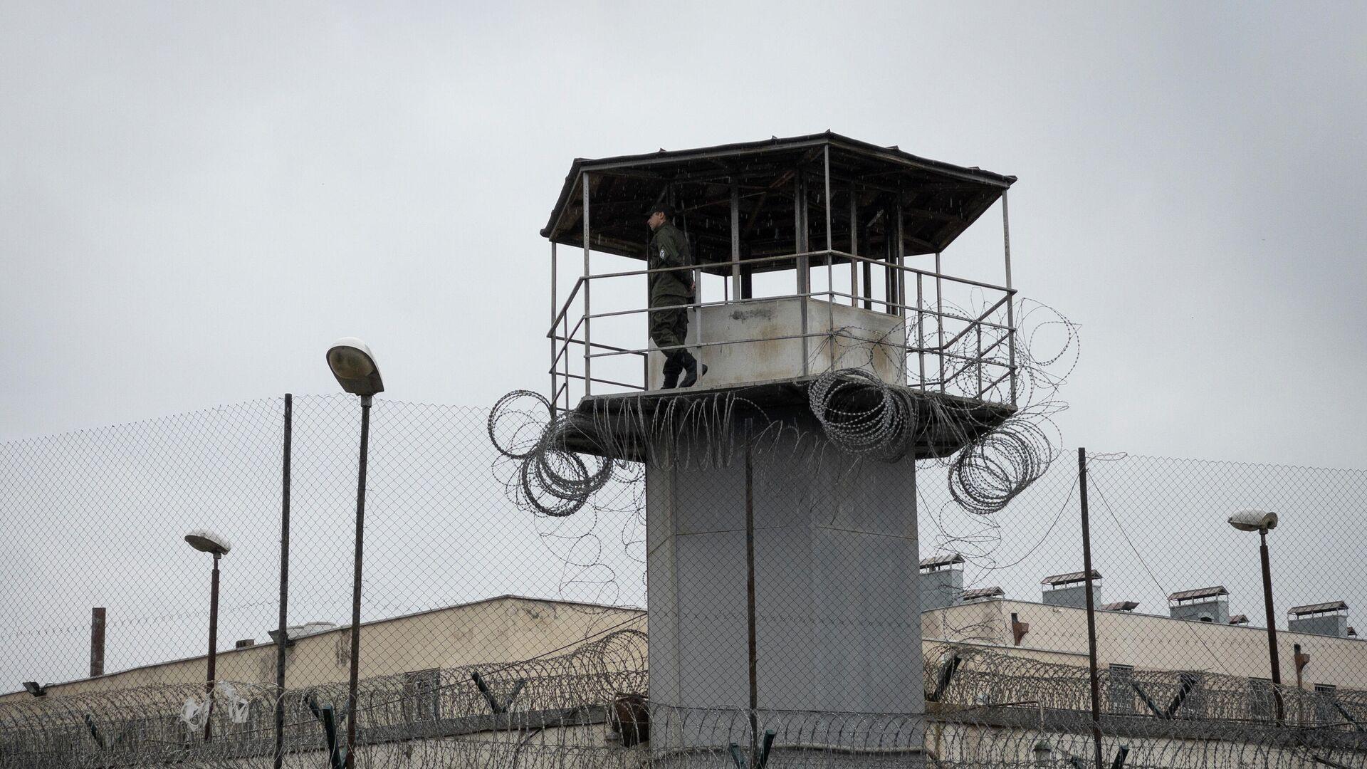 Тюрьма, где содержится бывший президент Грузии Михаил Саакашвили - РИА Новости, 1920, 03.10.2021