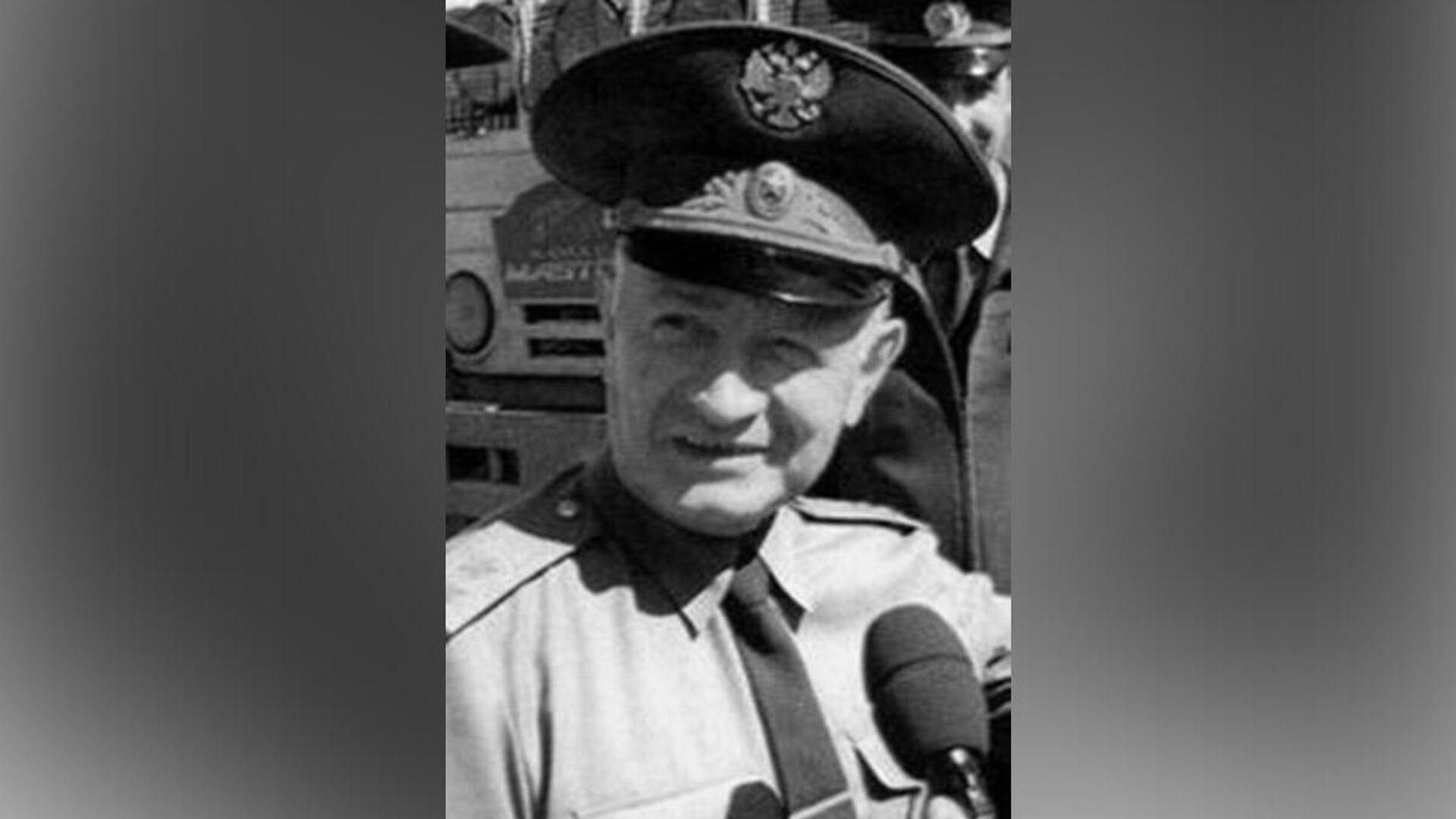 Космонавт Алексей Шумилин - РИА Новости, 1920, 04.10.2021