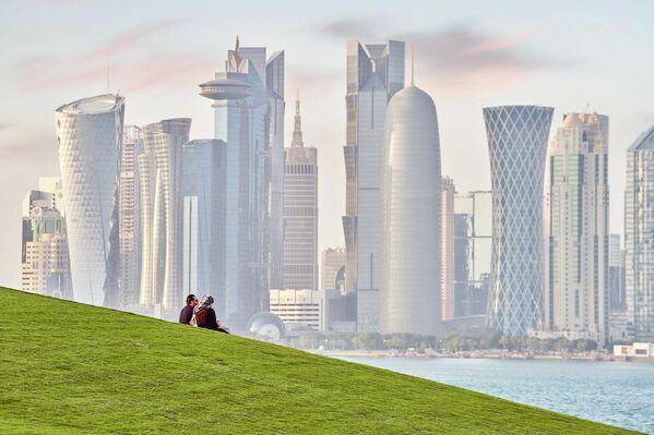 Катар. Набережная Корниш