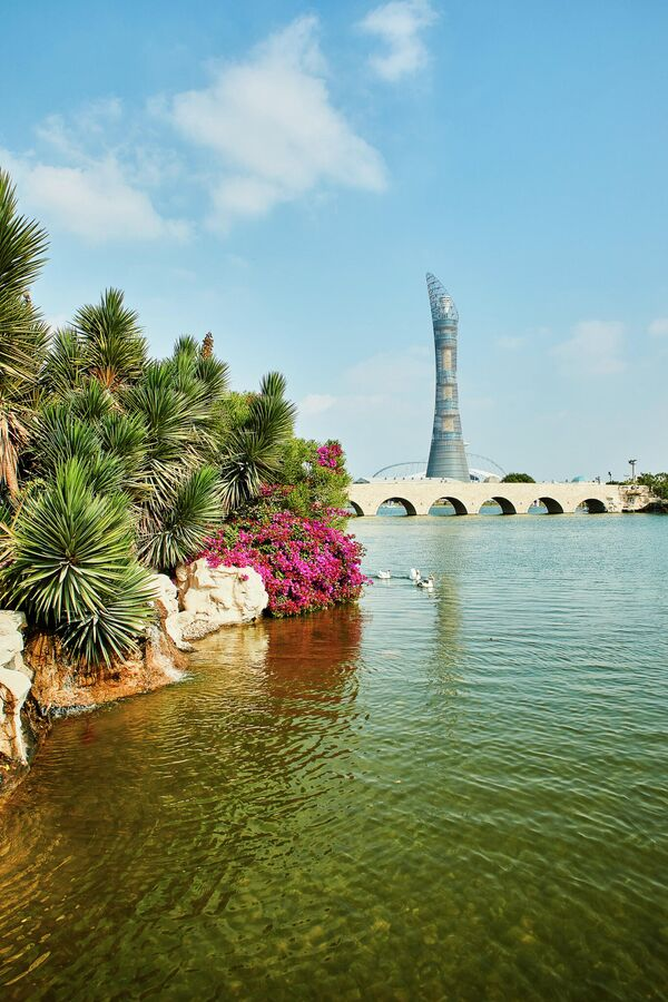 Башня Эспайр Тауэр в Катаре