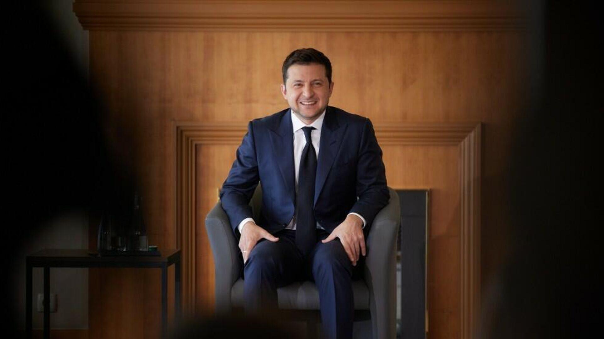 Президент Украины Владимир Зеленский - РИА Новости, 1920, 12.10.2021