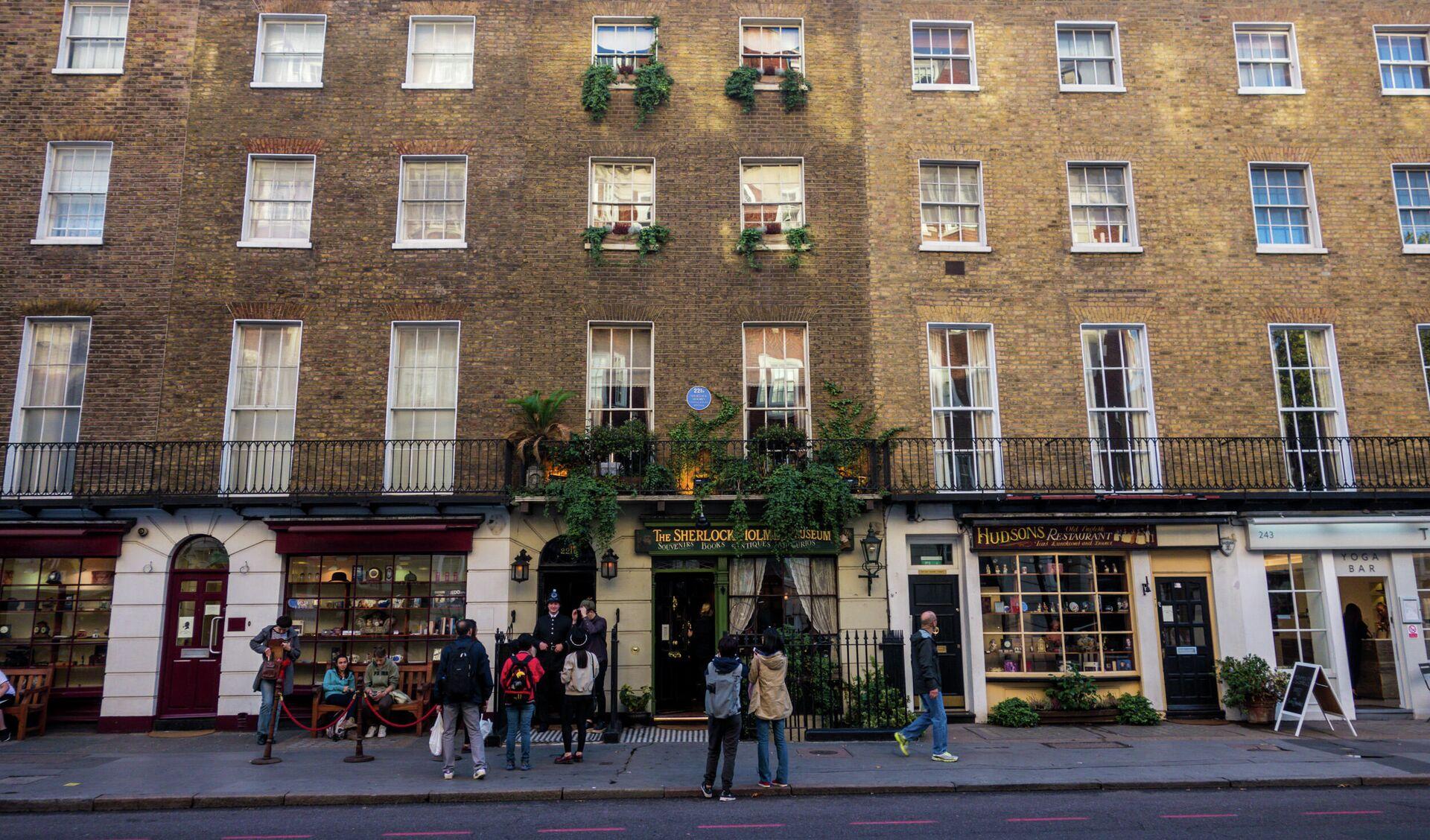 Дом на Бейкер стрит, в котором располагается музей Шерлока Холмса - ПРОФИ Новости, 1920, 04.10.2021