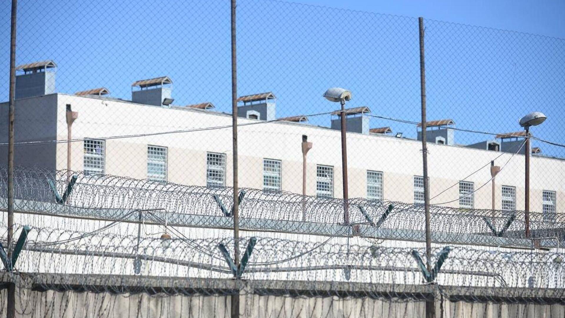 Здание тюрьмы в Рустави, где содержится арестованный бывший президент Грузии Михаил Саакашвили - РИА Новости, 1920, 08.10.2021