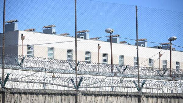 Здание тюрьмы в Рустави, где содержится арестованный бывший президент Грузии Михаил Саакашвили