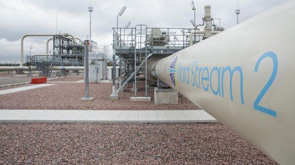 Объекты на участке берегового пересечения газопровода Северный поток — 2 в России