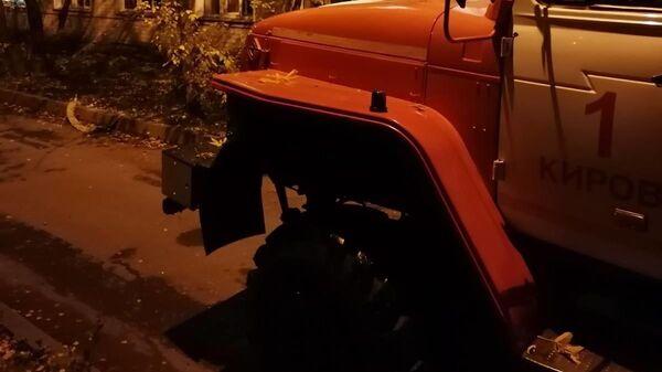 В Кировском минздраве назвали предполагаемую причину пожара в больнице