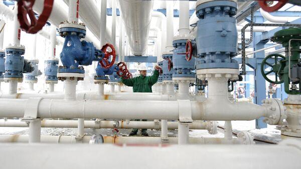 Центр контроля природного газа в Венгрии