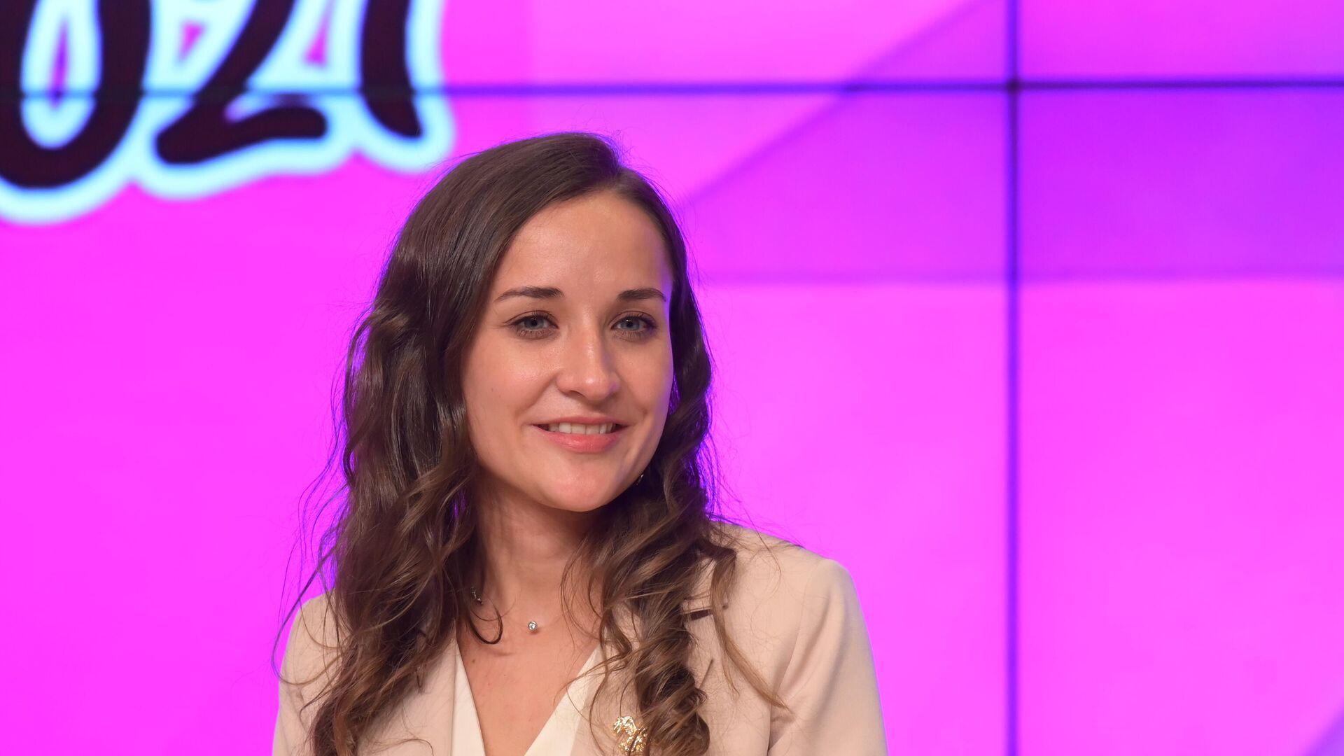 Екатерина Костылёва стала победителем конкурса Учитель года - 2021 - РИА Новости, 1920, 05.10.2021