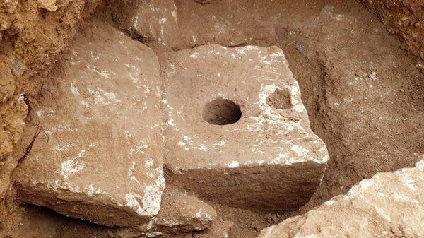 Древний туалет, обнаруженный в Иерусалиме