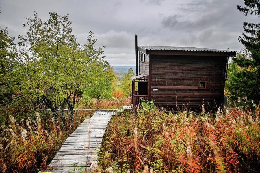 Экологическая тропа эколого-туристского комплекса Веселые горы, Свердловская область