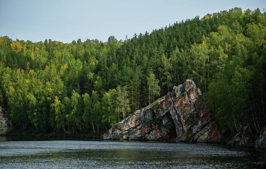Памятник природы регионального значения Каменные ворота, Свердловская область. Октябрь 2020 года