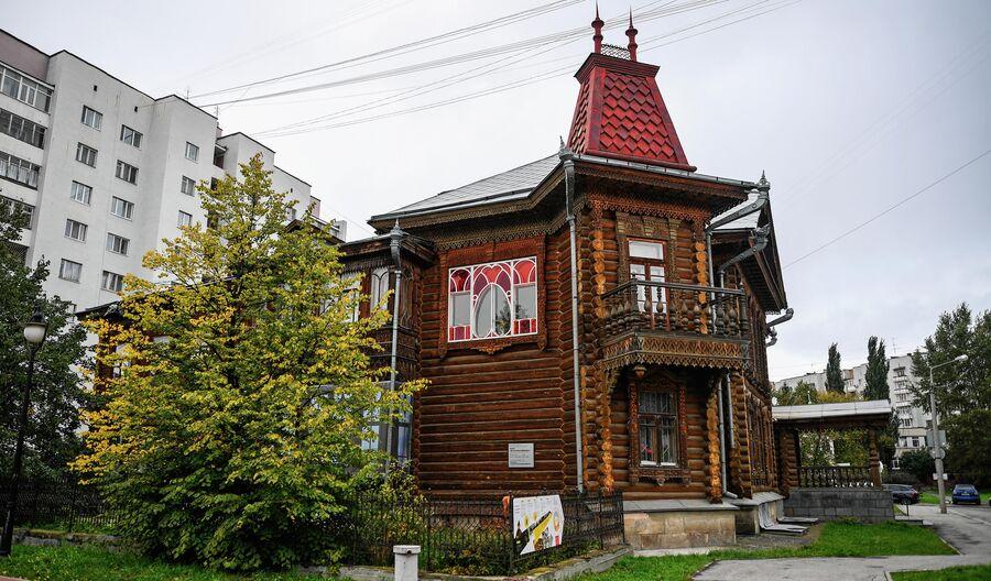 Усадьба Агафуровых в Екатеринбурге