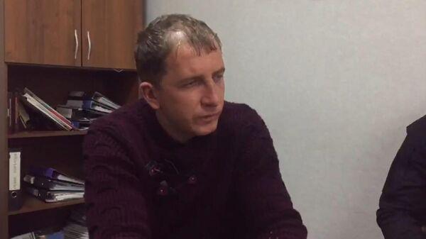 Подозреваемый в убийстве студенток в Оренбургской области на допросе в Следственном комитете