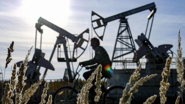 Нефтяные качалки в Татарстане