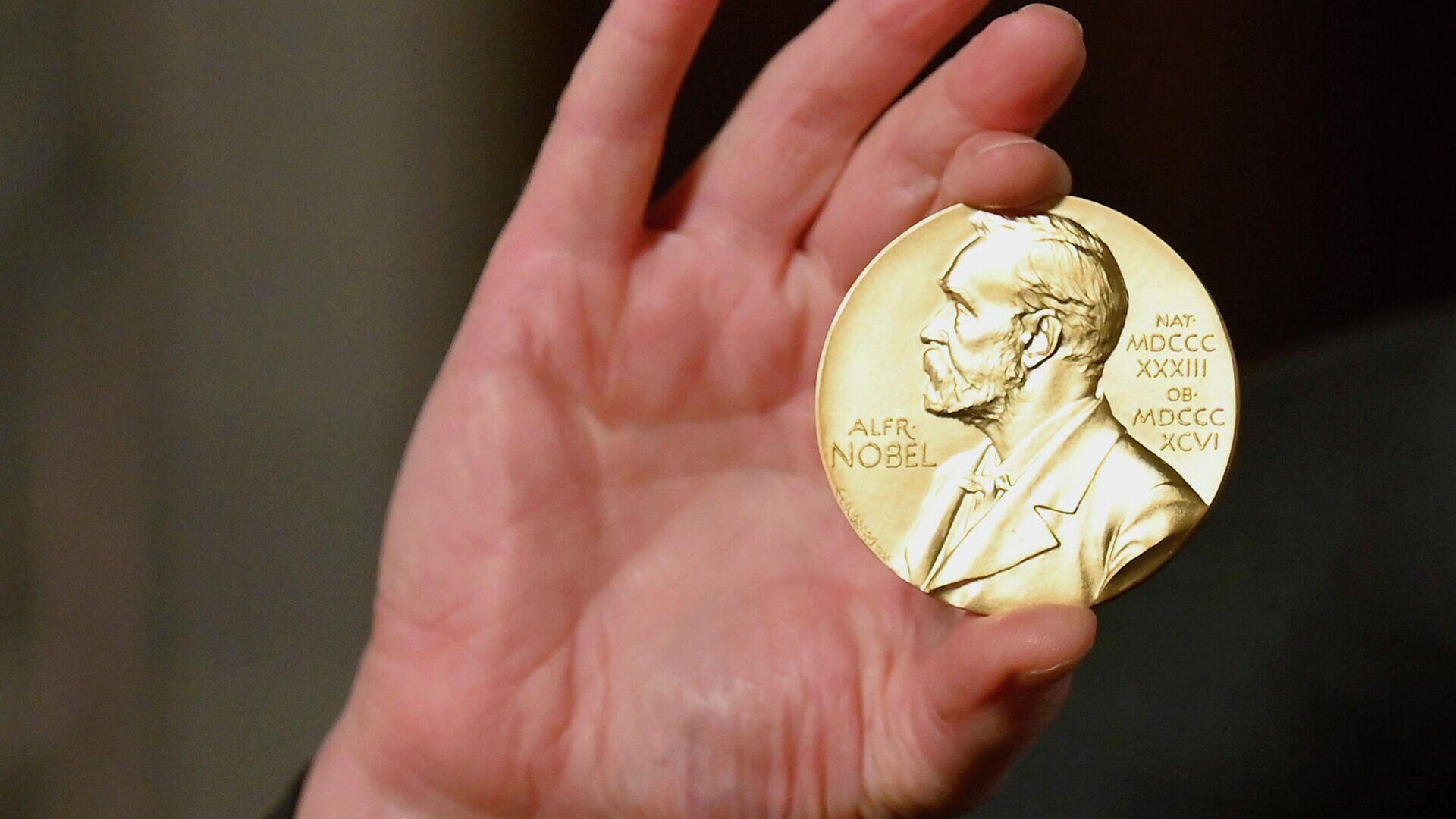 Нобелевская медаль - РИА Новости, 1920, 07.10.2021