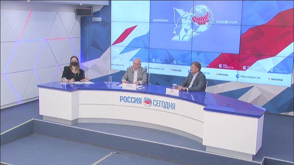 Подписание соглашения между медиагруппой Россия сегодня и Всероссийским детским центром Орленок