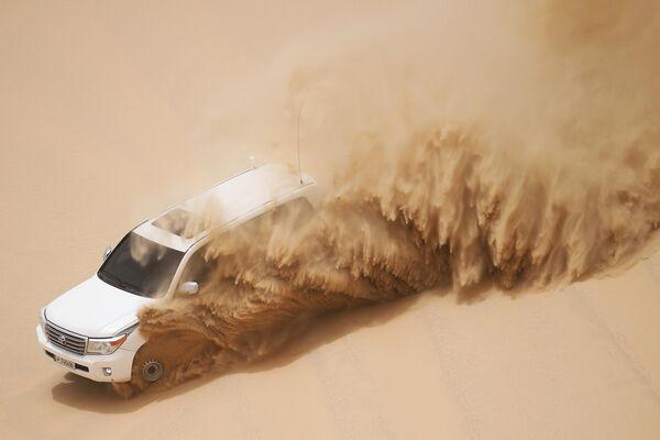 Сафари на джипах по пустыне Khor Al Adaid в Дохе