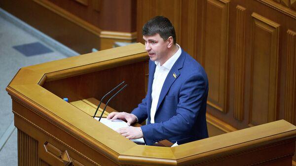 Депутат Верховной рады Украины Антон Поляков