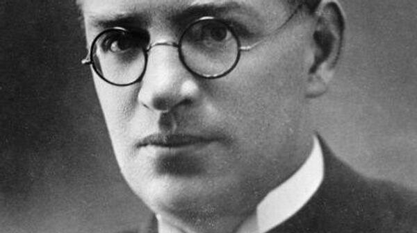 Русский писатель Борис Пильняк. (1884-1938).