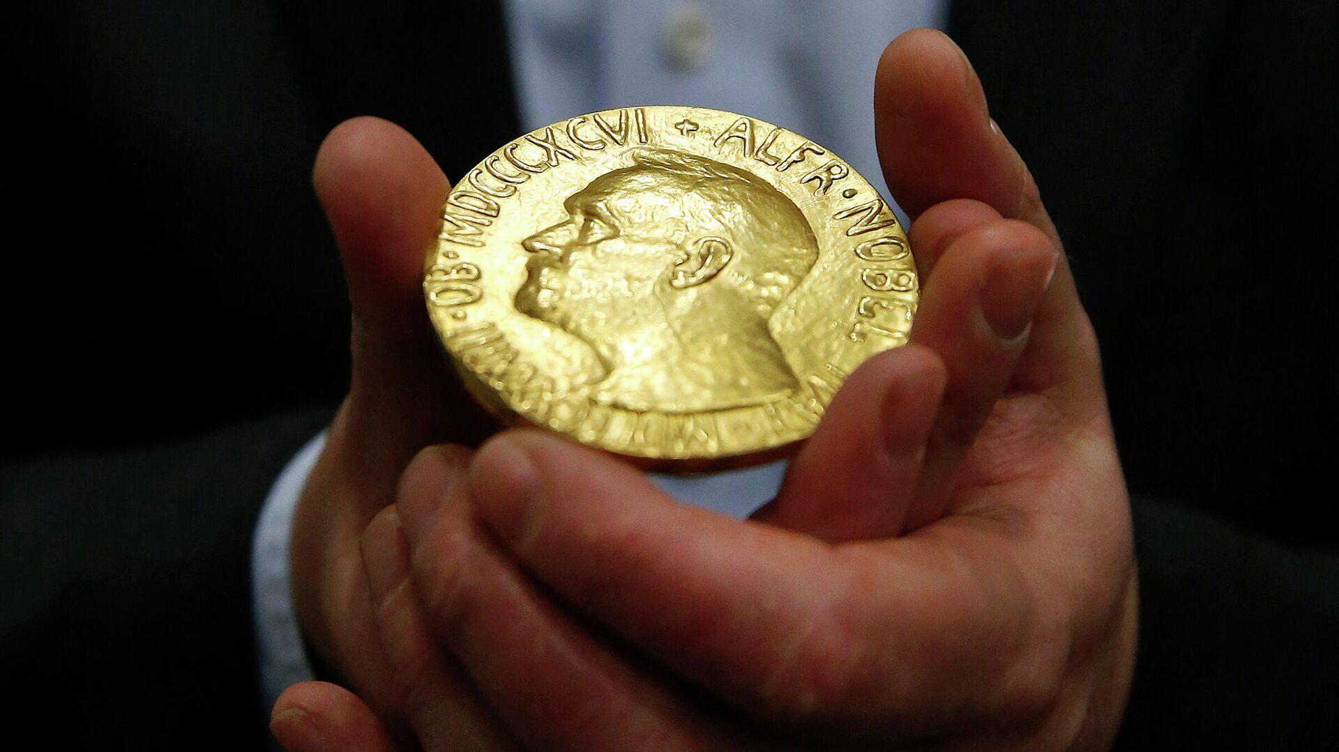Медаль Нобелевской премии мира - РИА Новости, 1920, 08.10.2021