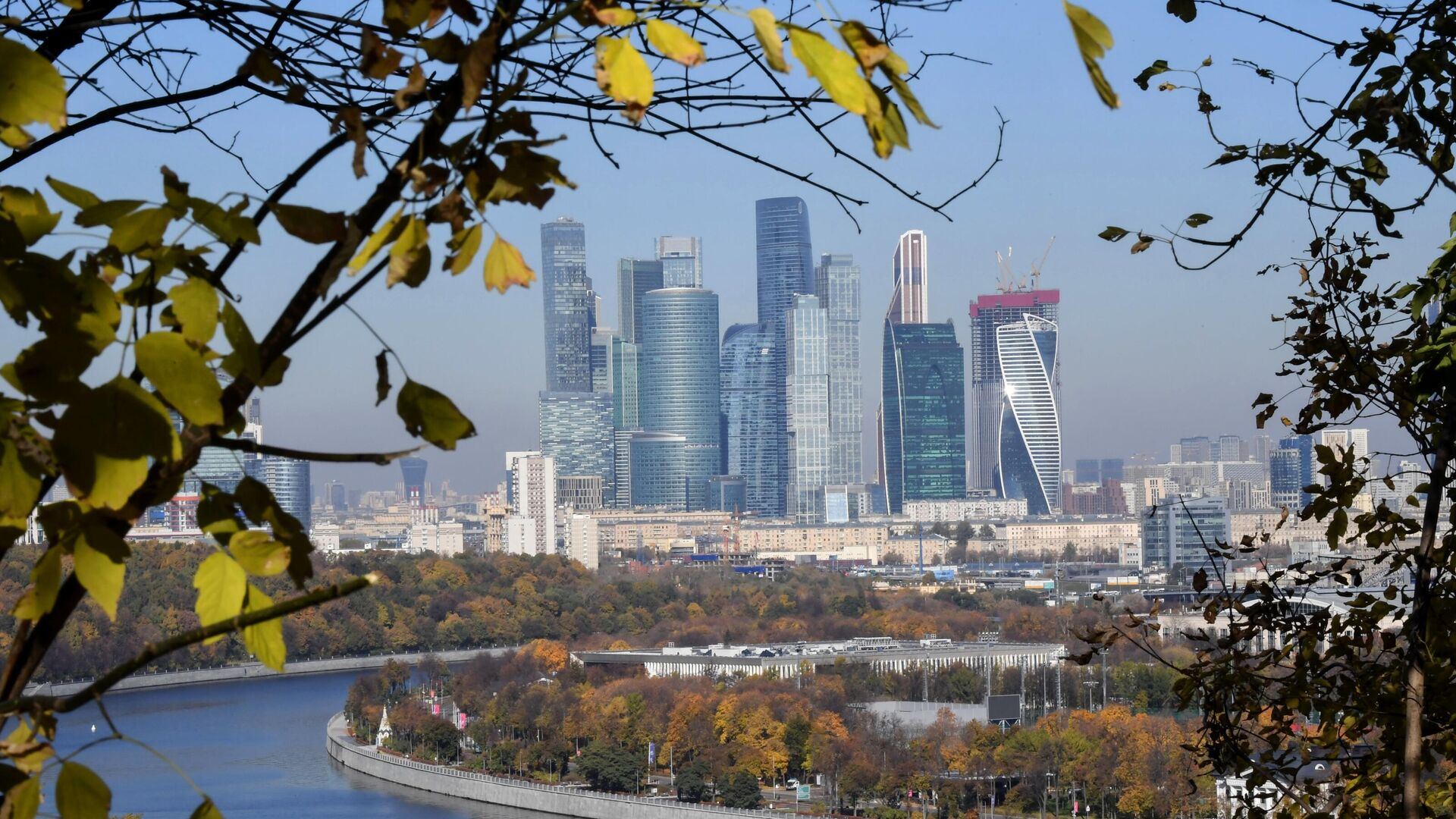 Московский международный деловой центр Москва-Сити 1