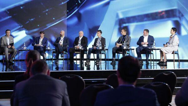 Дискуссия, организованная РБК Events, на конференции Умные решения — умная страна
