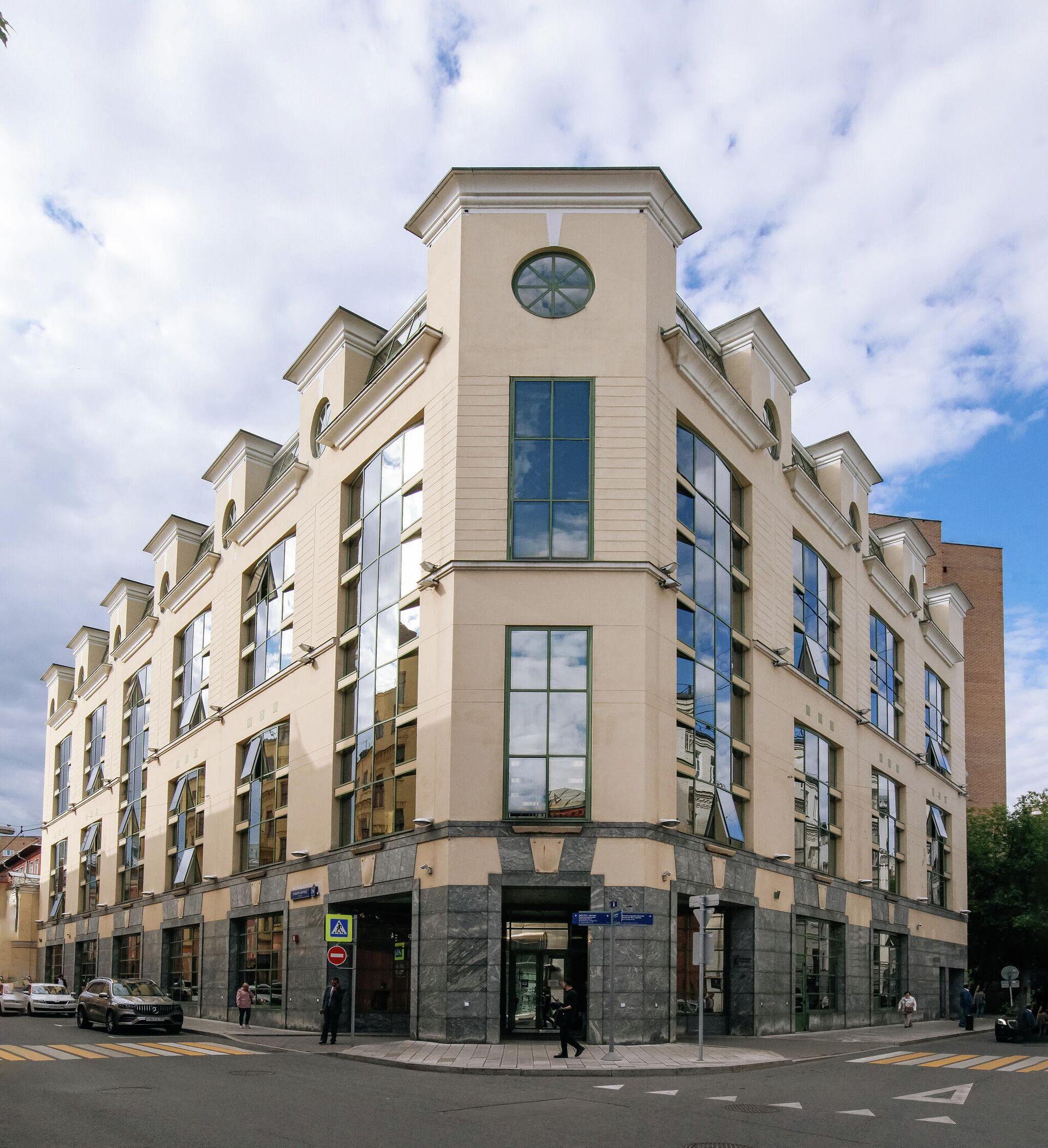 Здание БЦ Ринко Плаза, штаб-квартира СПбМТСБ - РИА Новости, 1920, 08.10.2021