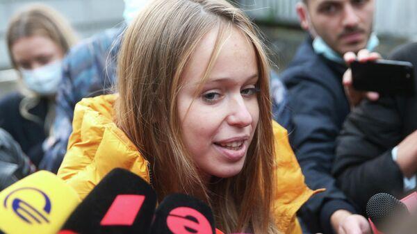 Депутат Верховной рады Украины Елизавета Ясько, которая состоит в отношениях с экс-президентом Грузии Михаилом Саакашвили