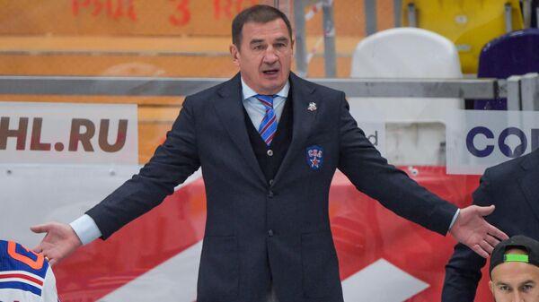 Главный тренер СКА Валерий Брагин