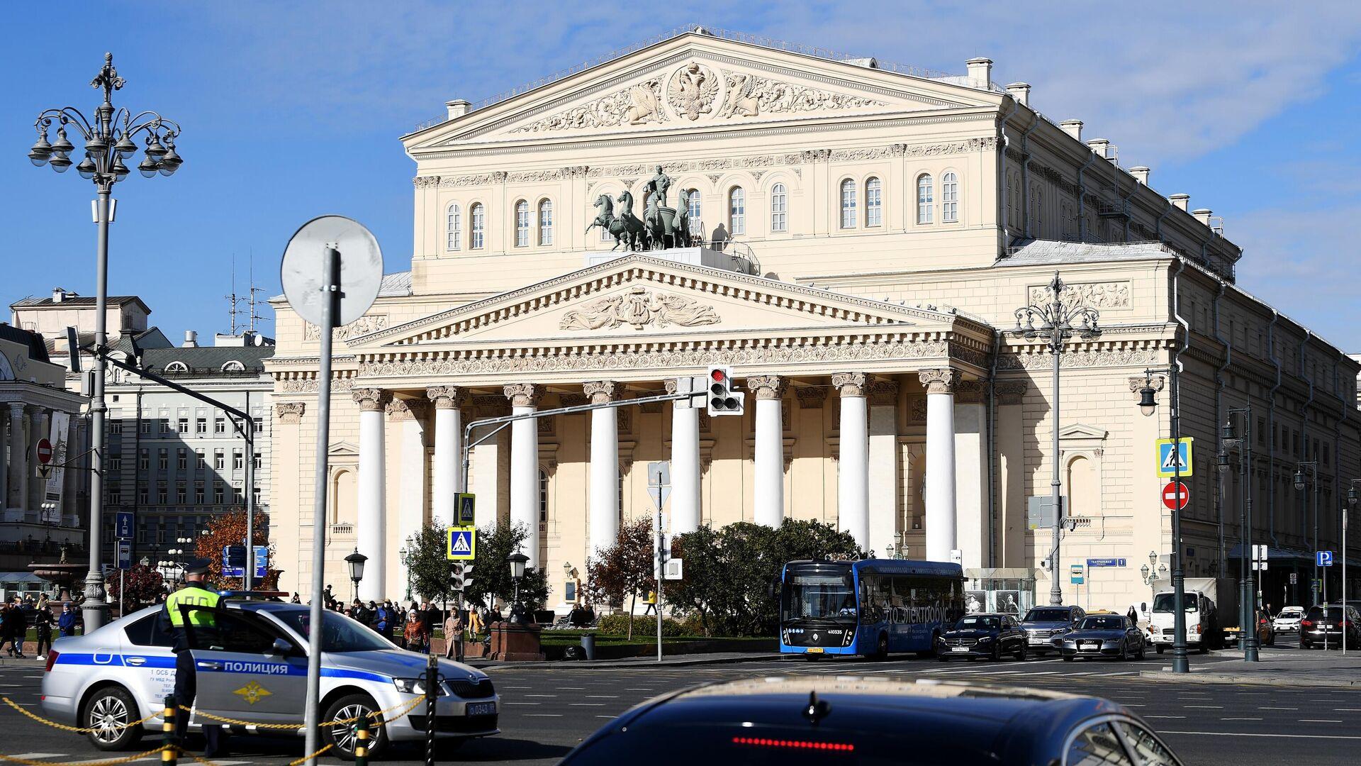 Государственный Академический Большой театр в Москве - РИА Новости, 1920, 10.10.2021