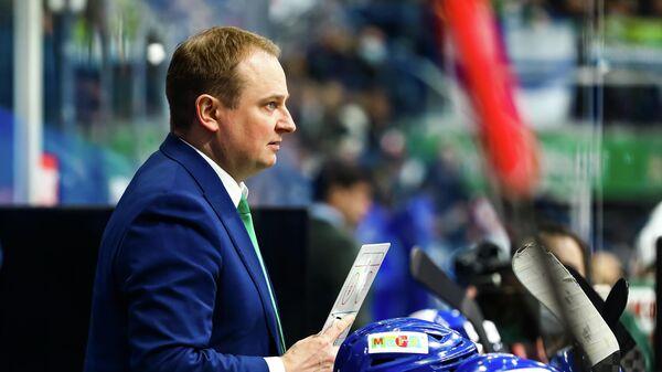 Главный тренер Салавата Юлаева Томи Лямся