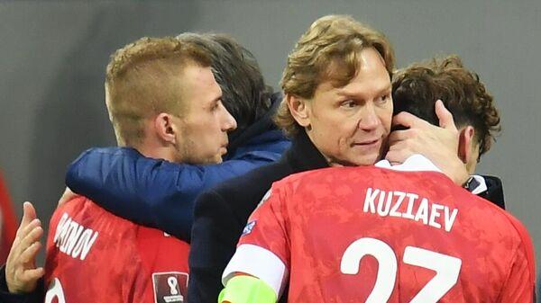 Футбол. Отборочный матч ЧМ-2022. Россия - Словакия