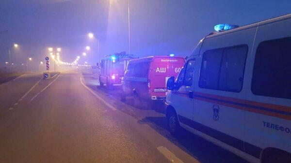 Несколько районов Екатеринбурга накрыло смогом из-за тлеющего торфяника