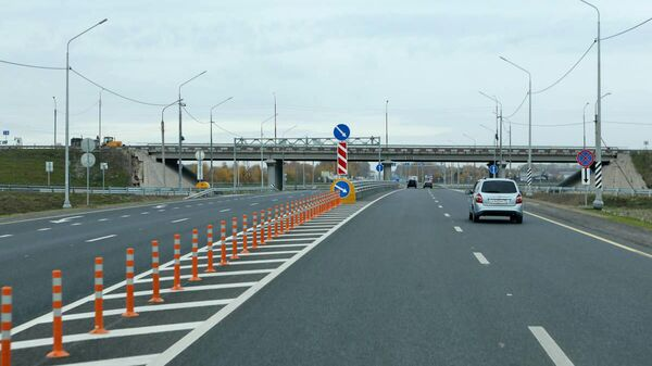 Отремонтированный участок автотрассы А-119 Вологда – Медвежьегорск в Вологодской области