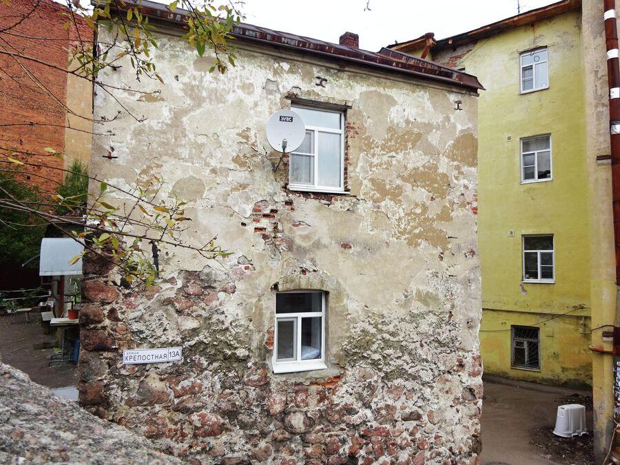 Дом горожанина (16 век). Самый старый жилой дом России