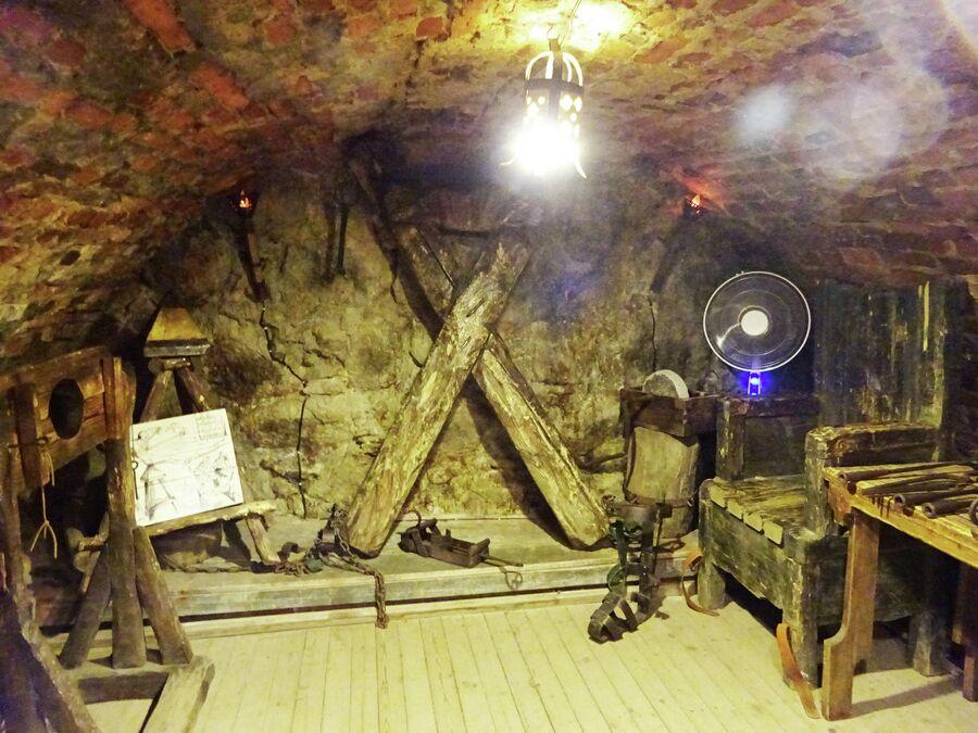 Пыточная камера в Рыцарском доме