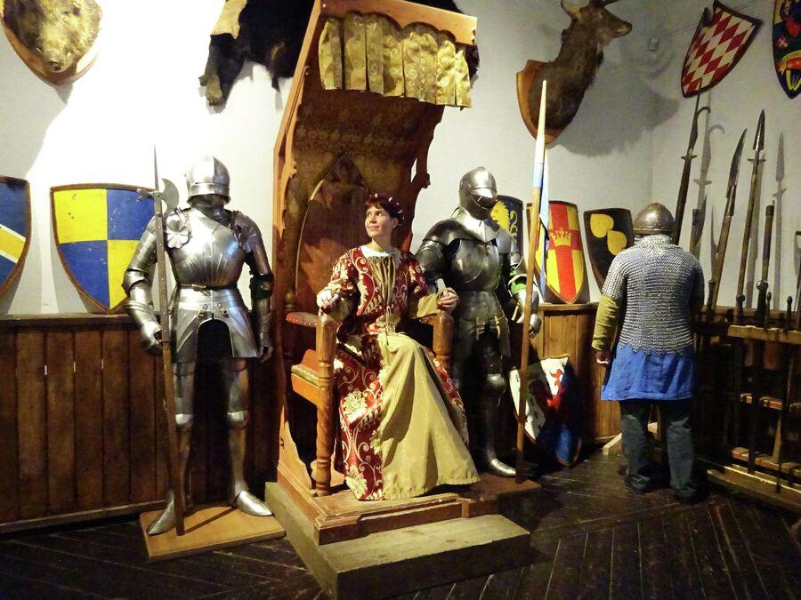 Фотозона в Рыцарском доме