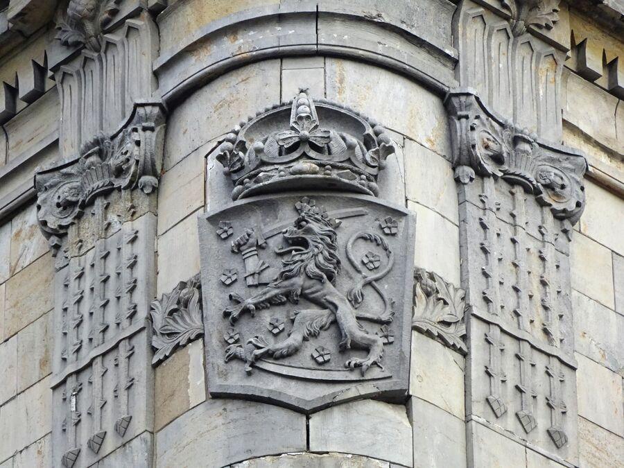Декор здания Национального акционерного банка Финляндии