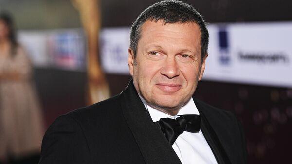 Журналист и телеведущий Владимир Соловьев
