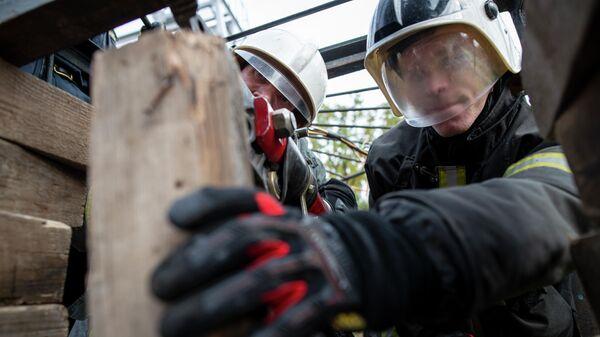 Учебные сборы добровольных пожарных и спасателей