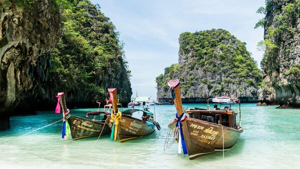 Острова Пхи Пхи в Таиланде