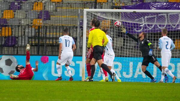 Футбол. Отборочный матч ЧМ-2022. Словения - Россия