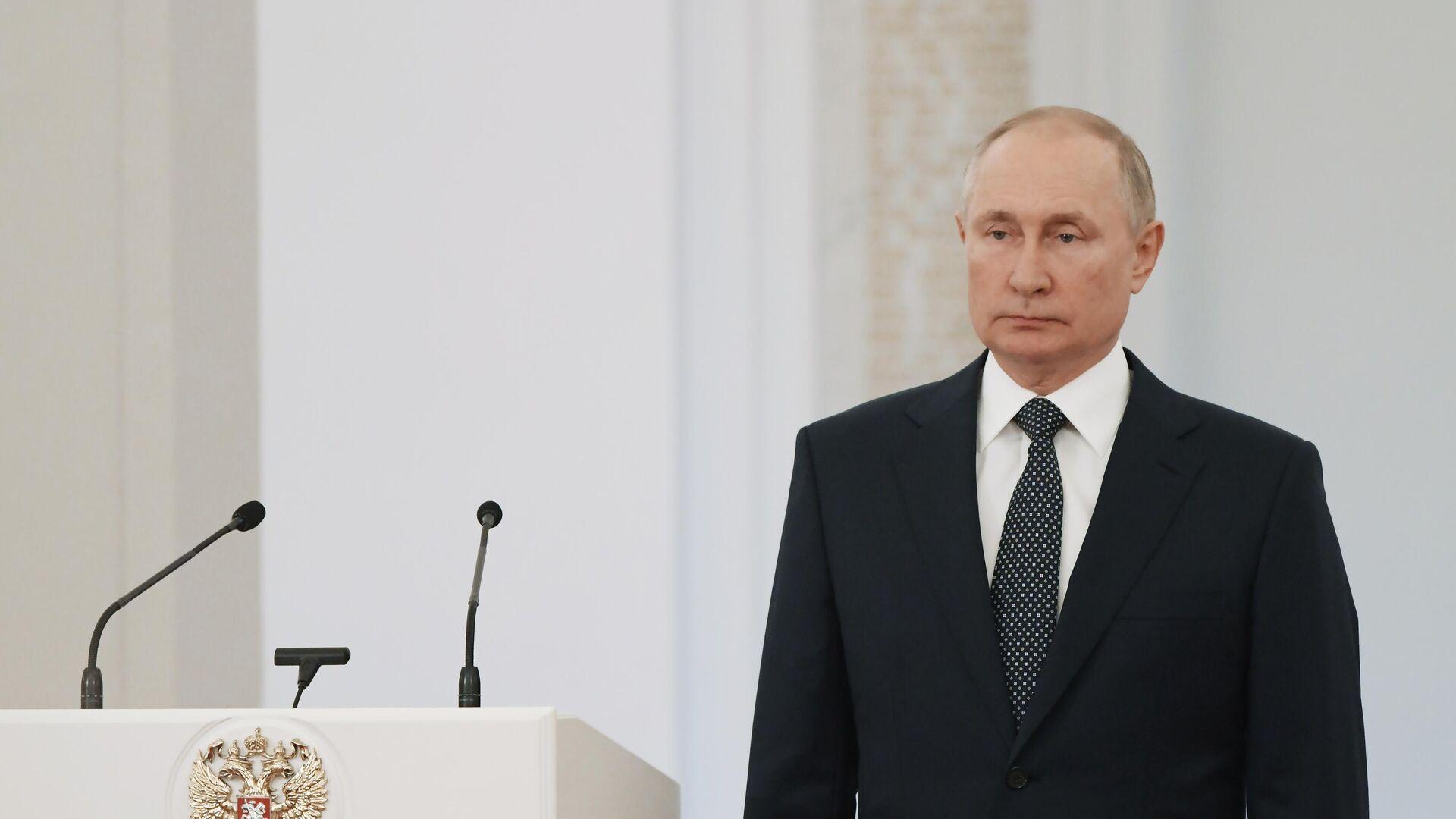 LIVE: Путин проводит встречу с депутатами Госдумы нового созыва - РИА Новости, 1920, 12.10.2021