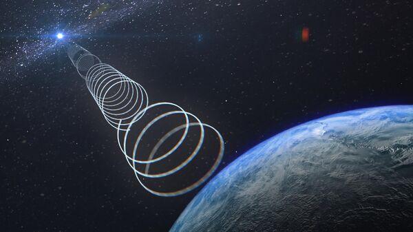 Астрономы обнаружили необычный сигнал, исходящий из центра нашей Галактики