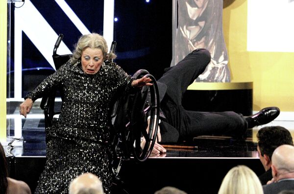 Актер Саша Барон Коэн на церемонии Britannia Awards 2013