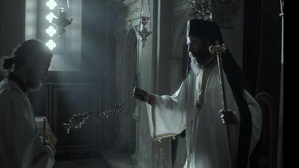 Кадр из фильма Человек Божий
