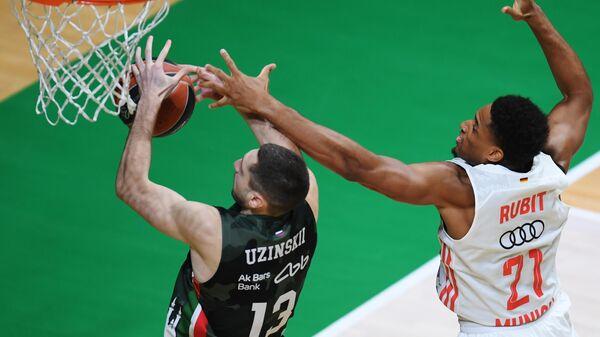 Баскетбол. Евролига. Матч УНИКС - Бавария