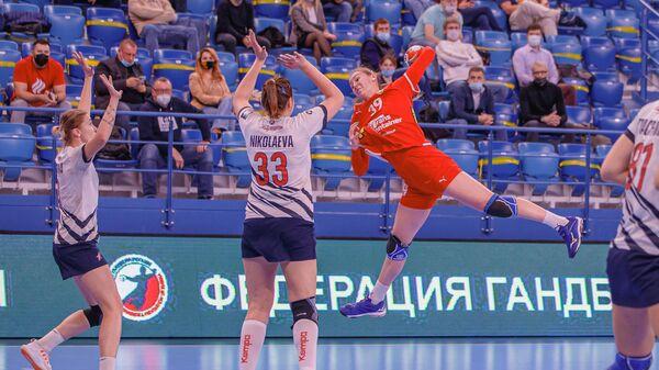 ЦСКА - Звезда в матче чемпионата России по гандболу среди женщин
