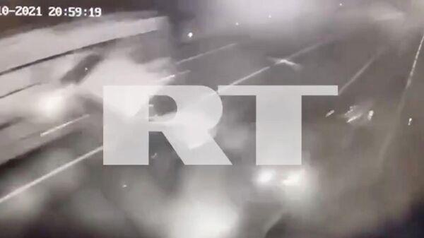 Момент смертельного ДТП с участием Собчак попал на видео